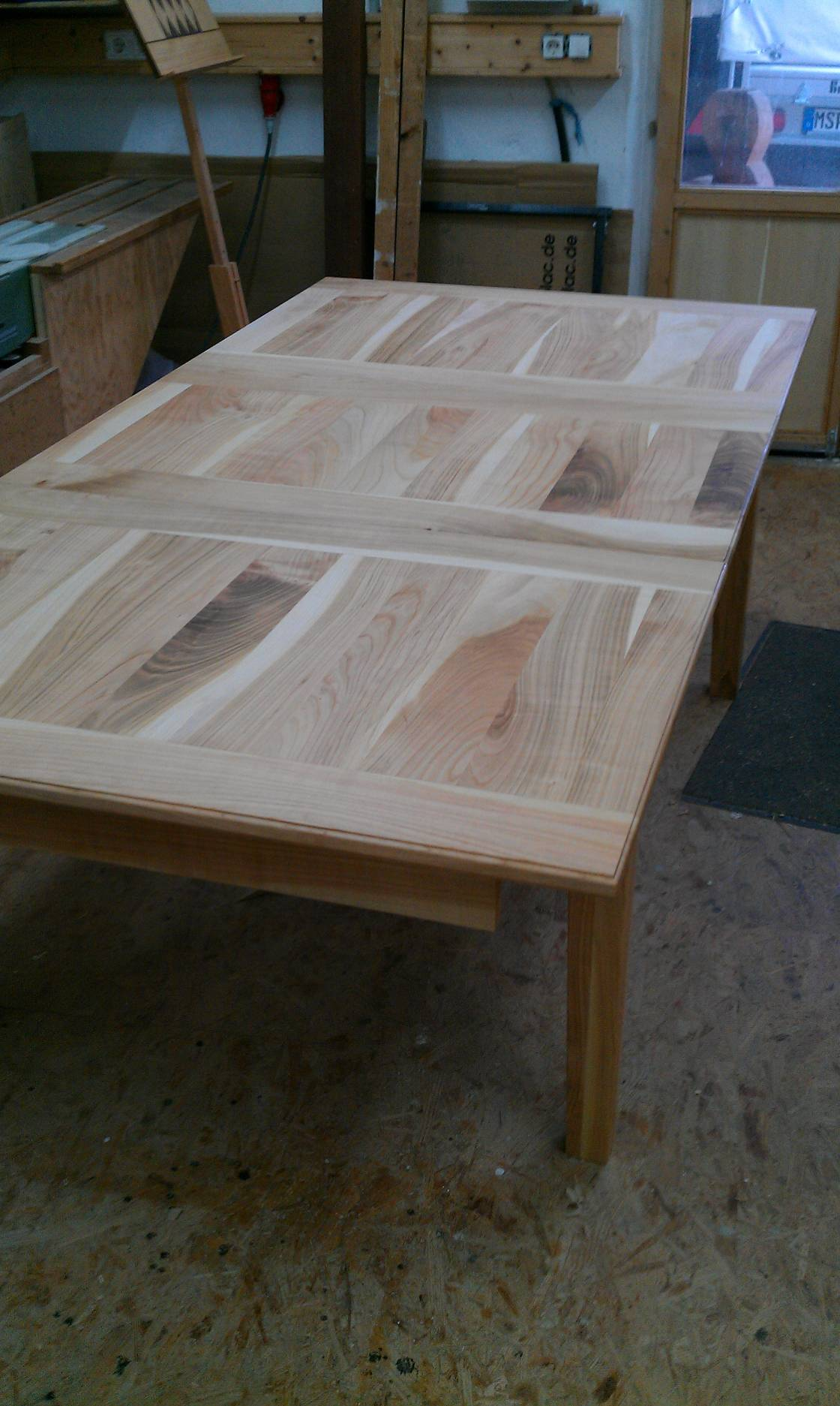 Ausziehbarer Tisch In Kirsche (3)