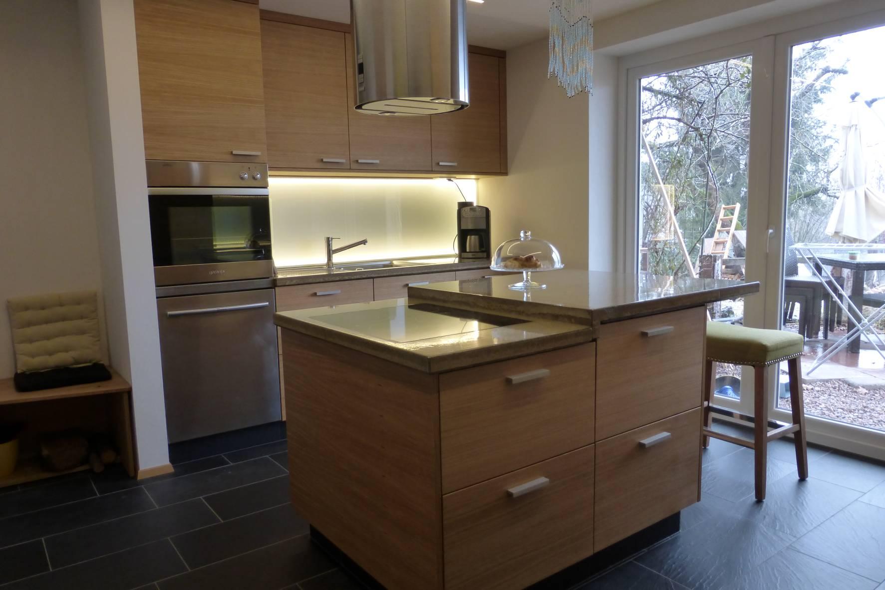Anton Baumeister - Esszimmer und Küche